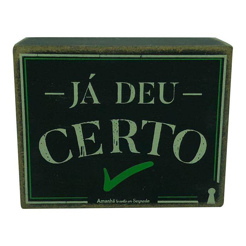 QUADRO BOX CERTO 08X10CM