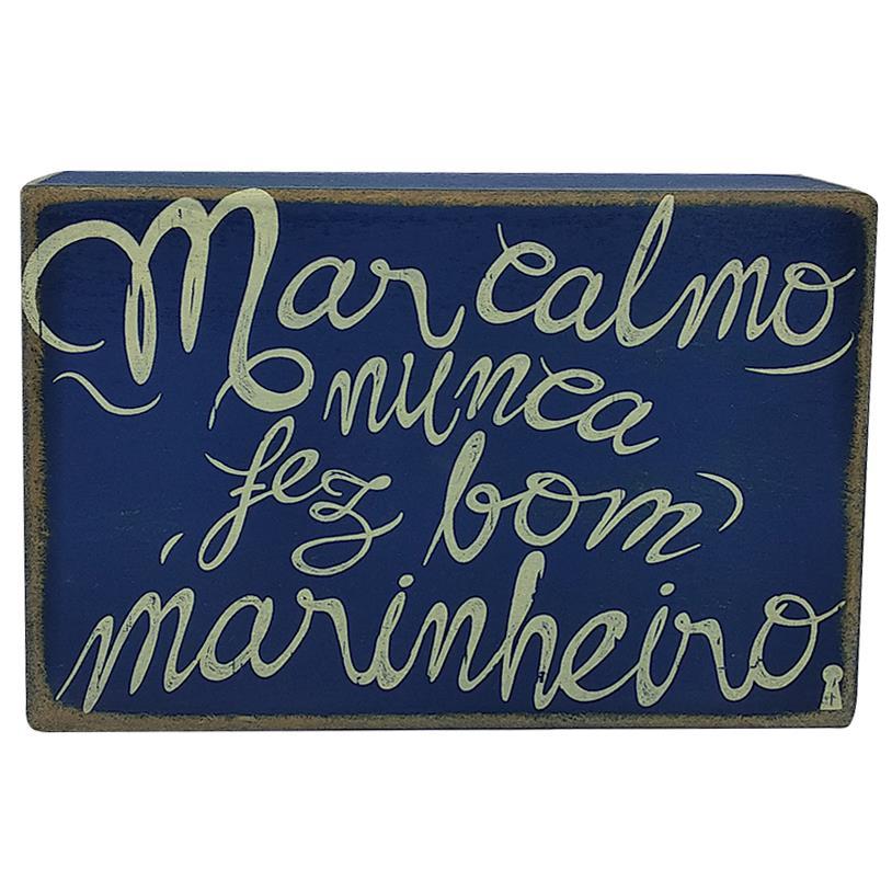 QUADRO BOX MARINHEIRO 10X15CM