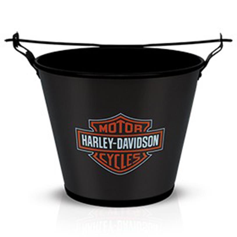BALDE DE GELO HARLEY DAVIDSON BLACK 5L