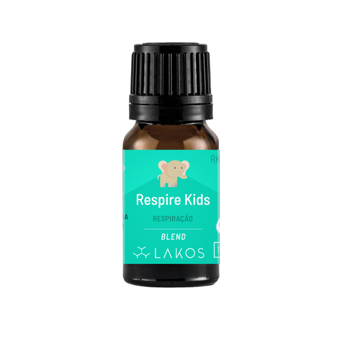 Blend de Óleos Essenciais Respire Kids 10ml V2- Lakos