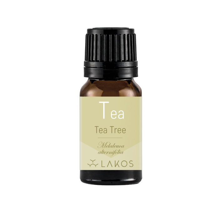 Óleo Essencial de Tea Tree - Melaleuca - 10ml -  Lakos