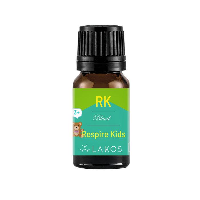 Blend de Óleos Essenciais Respire Kids 10ml - Lakos