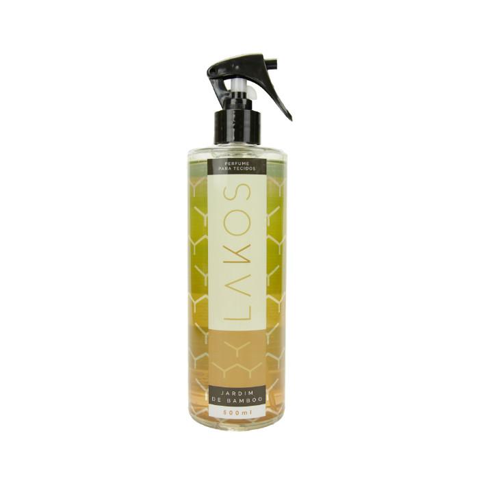 Perfume para Tecidos 500ml LAKOS Jardim de Bamboo
