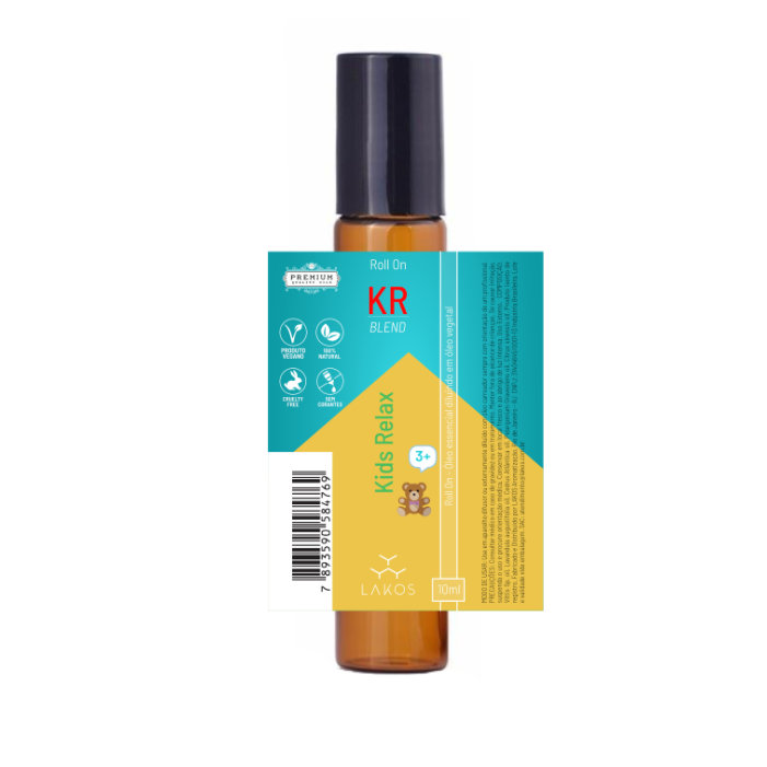Roll On de Óleos Essenciais Kids Relax 10ml - Lakos 2