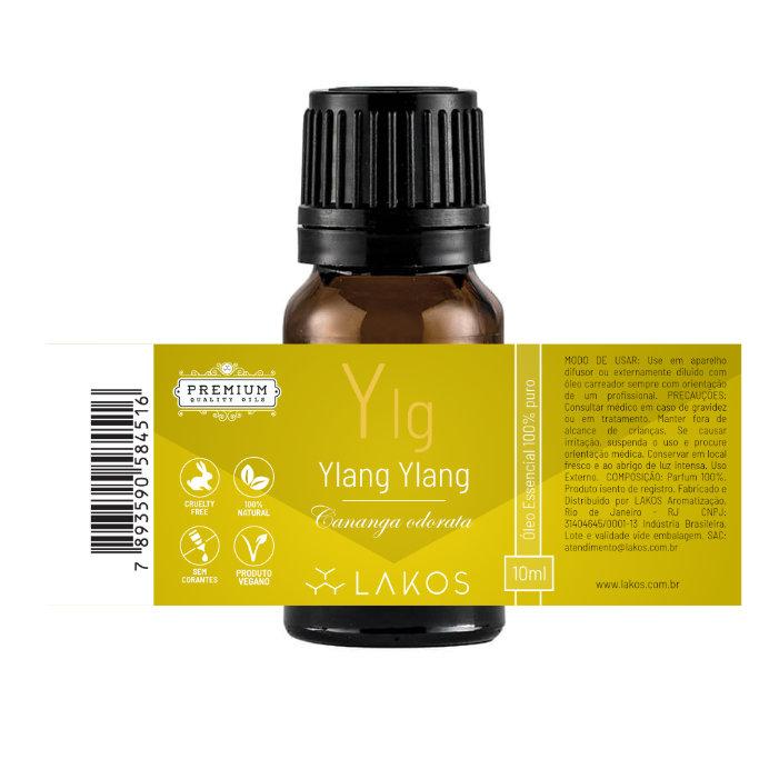Óleo Essencial de Ylang Ylang 10ml - Lakos 2