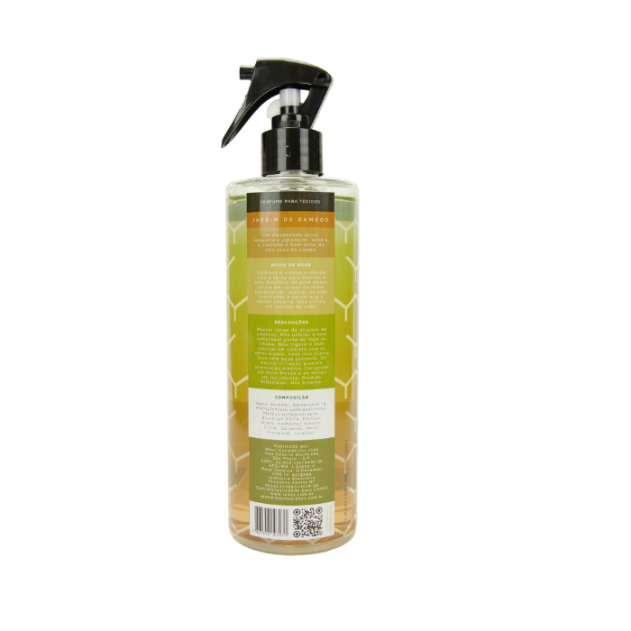 Perfume para Tecidos 500ml LAKOS Jardim de Bamboo 2