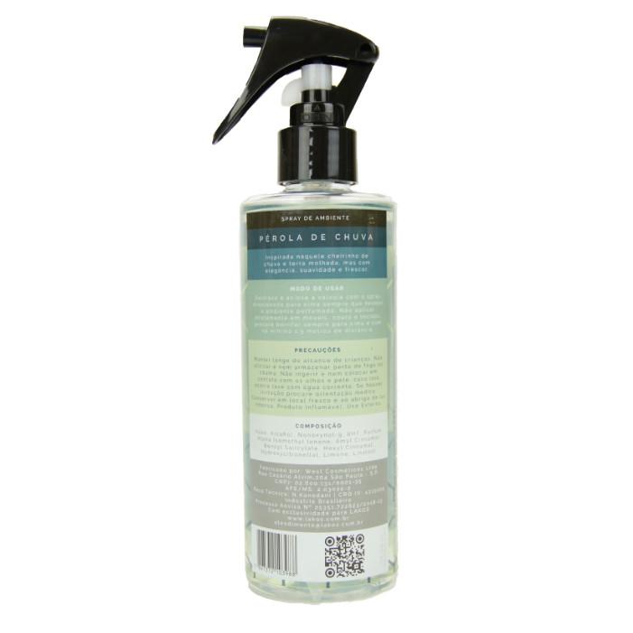 Spray de Ambiente 250ml LAKOS Pérola de Chuva 2
