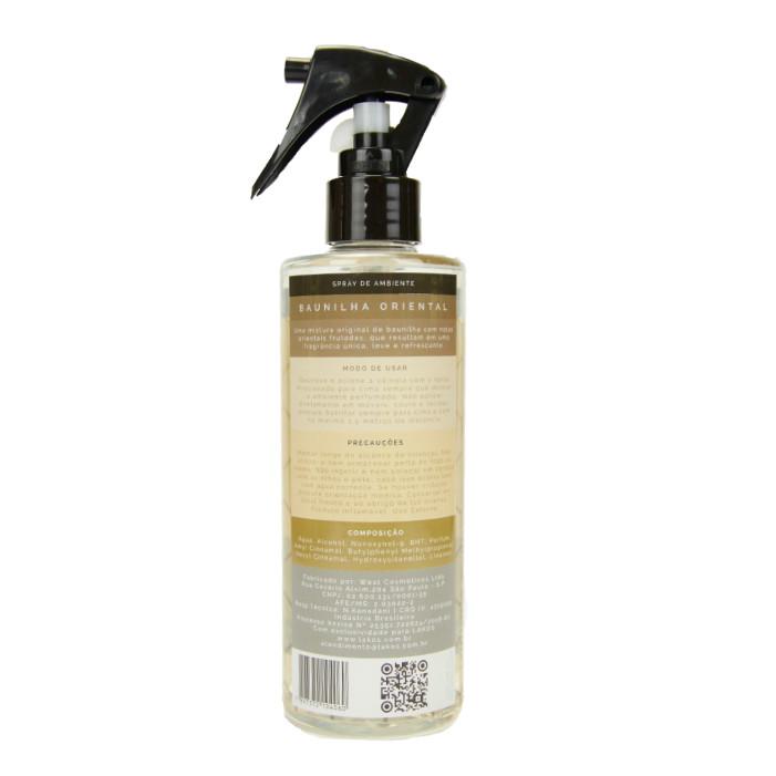 Spray de Ambiente 250ml LAKOS Baunilha Oriental 2