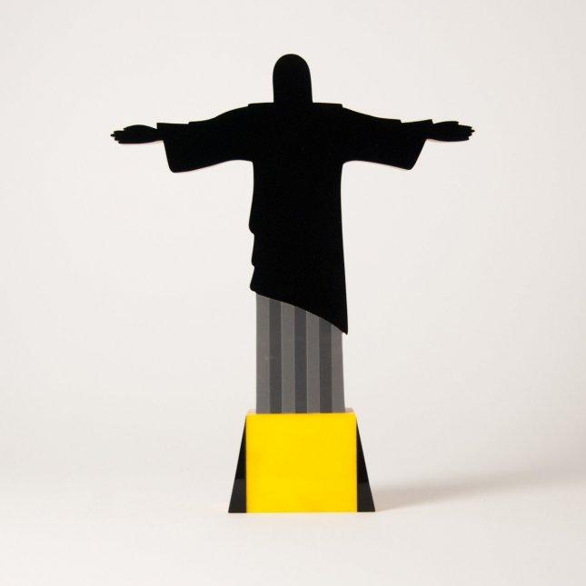 Escultura Cristo Fun Rio