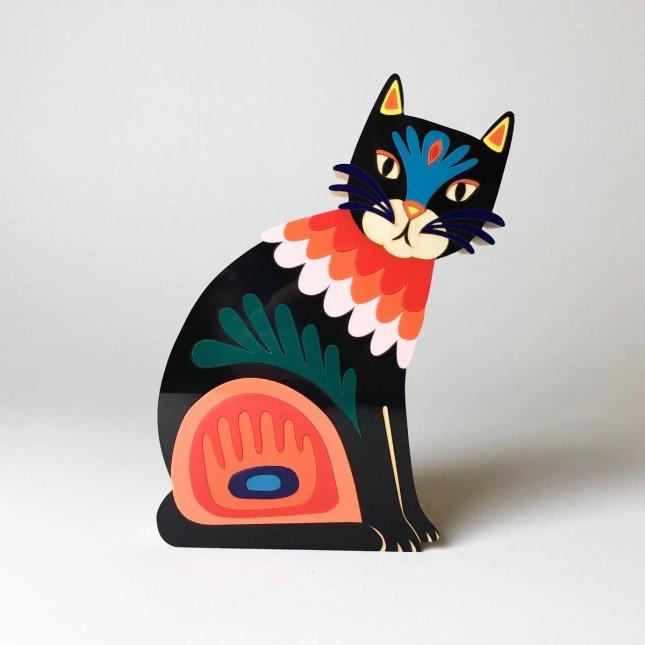 Escultura Gato Wikta
