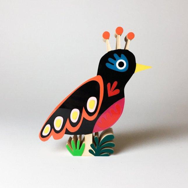 Escultura Pássaro Ewa