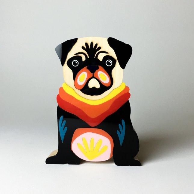 Escultura Pug Marek