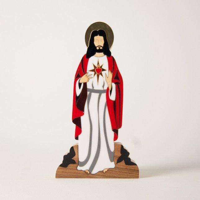 Escultura Sagrado Coração de Jesus
