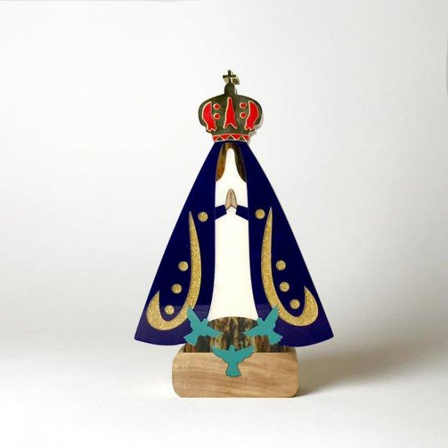 Escultura Nossa Senhora Aparecida Sofistic