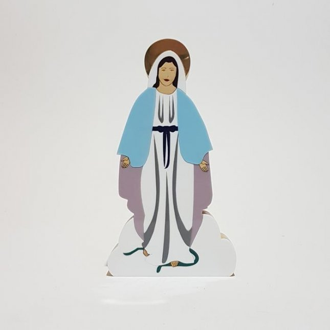 Escultura Nossa Senhora das Graças