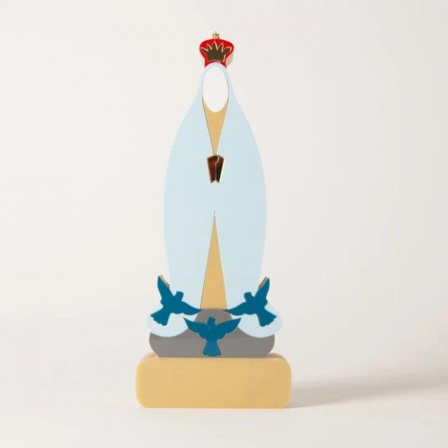 Escultura Nossa Senhora de Fátima
