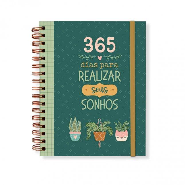 Planner Anual 365 Dias Para Realizar Sonhos