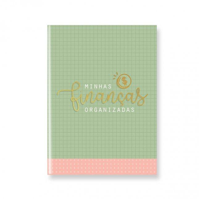 Pocket Planner Minhas Finanças Organizadas Verde e Rosa