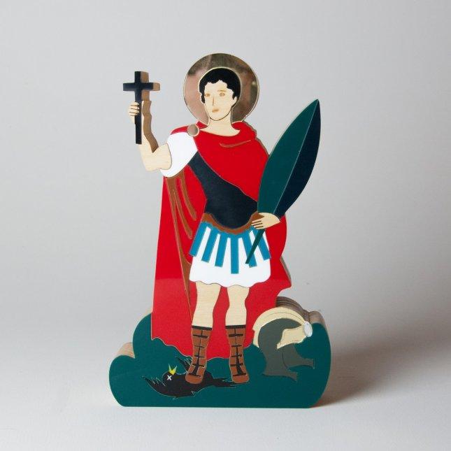 Escultura Santo Expedito