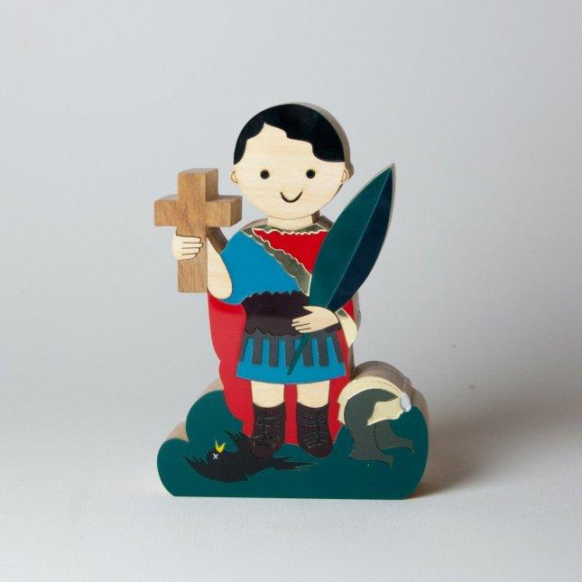 Escultura Santo Expedito Mini