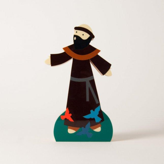 Escultura São Francisco de Assis