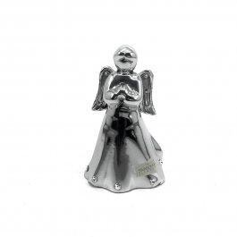 Imagem - Escultura Anjo em Alumínio com Swarovski