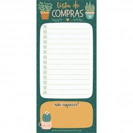 Imagem - Bloco de Notas Notepad Plantinhas