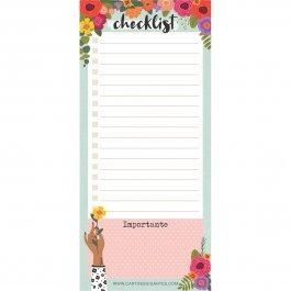 Imagem - Bloco de Notas Notepad Floral