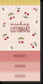 Imagem - Bloco Minhas Listas Cerejinha