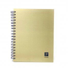 Imagem - Caderno Lascaux Pautado Bege 18,5x24,7