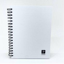 Imagem - Caderno Lascaux Quadriculado Branco 18,5x24,7