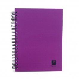 Imagem - Caderno Lascaux Quadriculado Purple 18,5x24,7