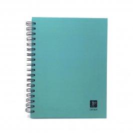 Imagem - Caderno Lascaux Quadriculado Tiffany 18,5x24,7