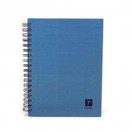 Imagem - Caderno Lascaux Quadriculado Azul 18,5x24,7