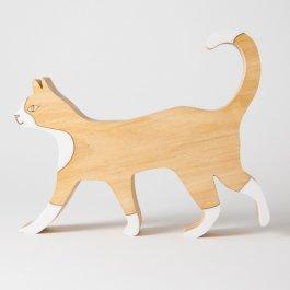 Imagem - Escultura Gato Andando