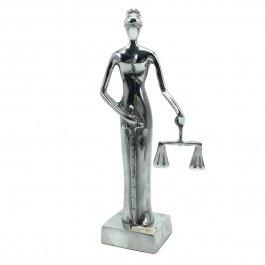 Imagem - Escultura Justiça Cega com Swarovski
