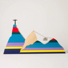 Imagem - Escultura Paisagem Listra Rio