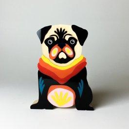 Imagem - Escultura Pug Marek