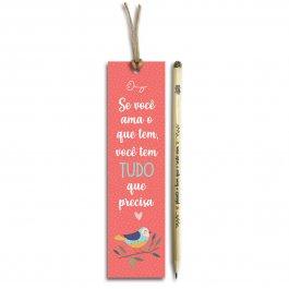 """Imagem - Lápis Semente """"Se Você Ama"""""""