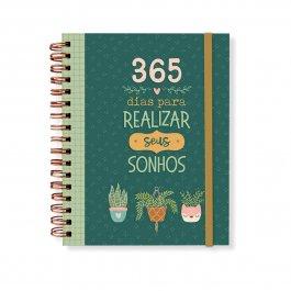 Imagem - Planner Anual 365 Dias Para Realizar Sonhos