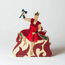 Imagem - Escultura Xangô com Mensagem