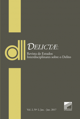 DELICTAE: Revista de Estudos Interdisciplinares sobre o Delito -Vol 2 Nº 2.