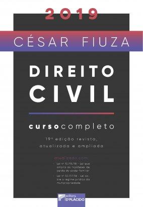 Direito civil - curso completo 2019 - 19º Edição