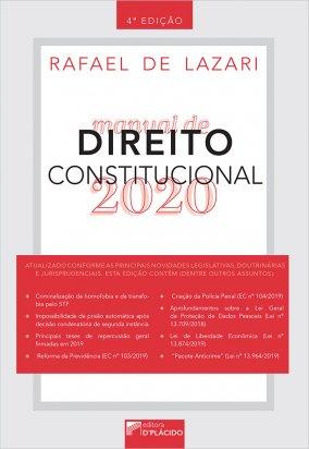 Manual de direito constitucional 2020 - 4ª Edição