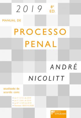Manual de processo penal 8ª Edição - 2019