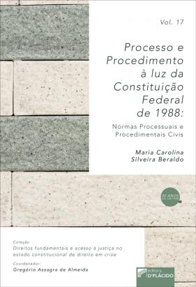 Processo e procedimento à luz da constituição federal de 1988: normas processuais e procedimentais civis- Volume 17