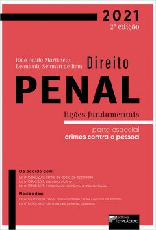 Imagem -  Direito Penal Lições Fundamentais parte especial: crimes contra a pessoa, 2ª edição 2021