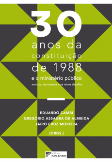 Imagem - 30 anos da constituição de 1988 e o ministério público: avanços, retrocessos e os novos desafios - 9788584258901