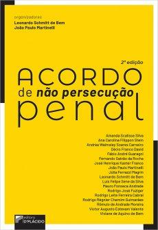 Imagem - Acordo de não persecução penal - 2ª Edição 2020 - 9786555890921