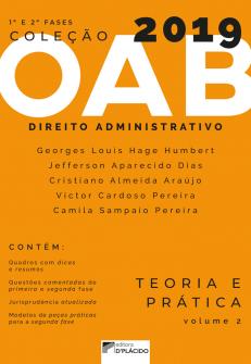 Imagem - Coleção OAB 2019 - Direito Administrativo : Teoria e prática -Volume 2